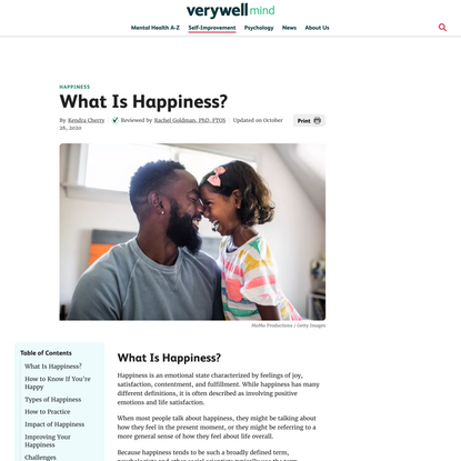 How Do Psychologists Define Happiness?