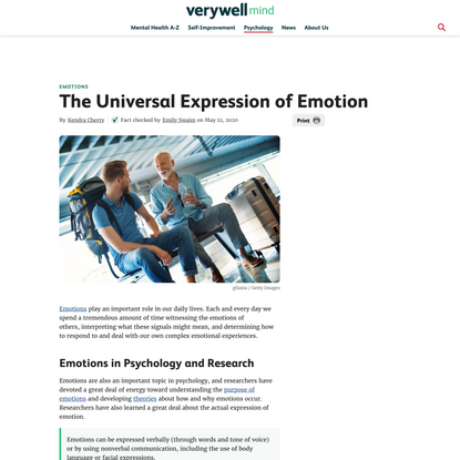 Are Our Emotional Expressions Universal?
