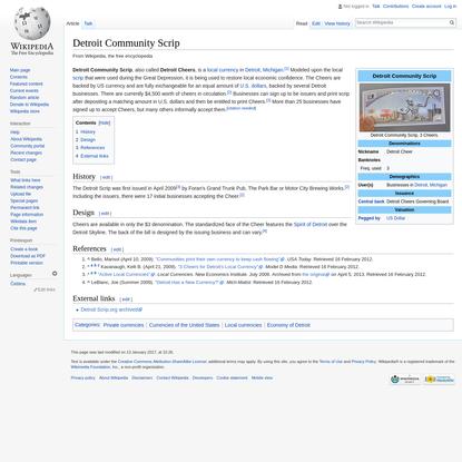 Detroit Community Scrip - Wikipedia