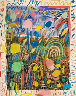 Kelly Knaga - Familiar Marks, Unfamiliar Places No. 10, 2020