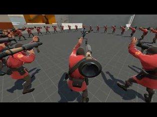 Team Fortress 2 - USK Mass Bots