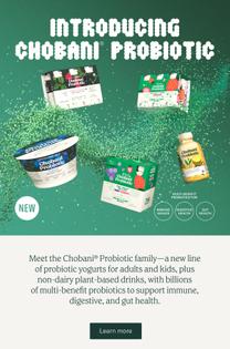 Chobani Probiotic