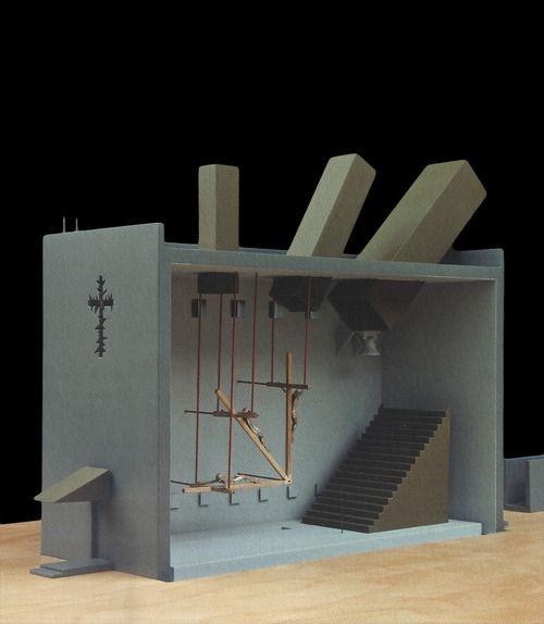 John Hejduk / chapel