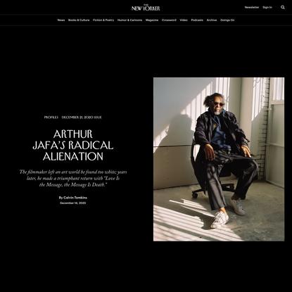 Arthur Jafa'sRadical Alienation