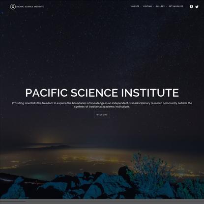 Pacific Science Institute