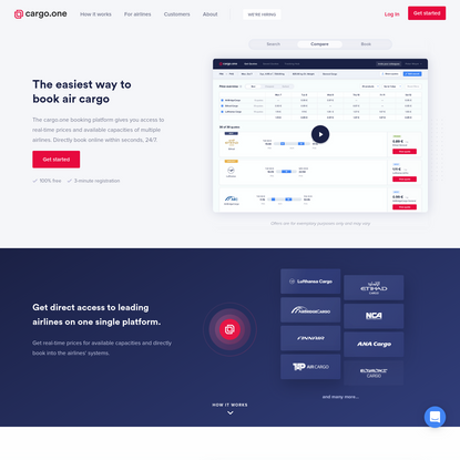 cargo.one - The easiest way to book air cargo