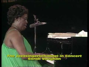 Sarah Vaughan in concert Once In A While