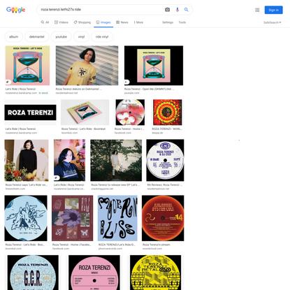 roza terenzi let%27s ride - Google Search