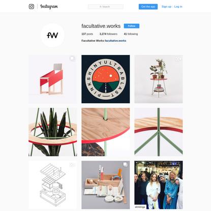 Facultative Works (@facultative.works) * Instagram photos and videos