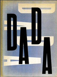 """Paul Rand cover design for """"The Dada Painters and Poets"""" 1951"""