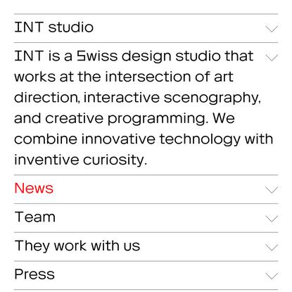INT studio