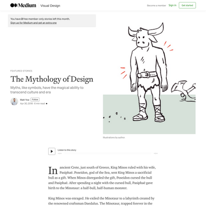 The Mythology of Design
