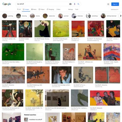 kai althoff - Google Search