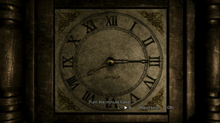 RE 0 HD Remaster Clock