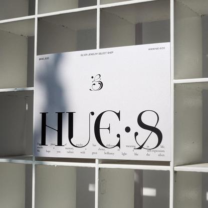 """αєthєr3 on Instagram: """"Brand identity we did for @hue_s.co - an online silver jewelry select shop."""""""