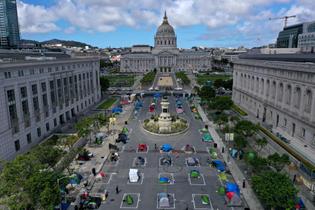 Sanctioned Tent Camp
