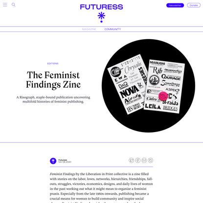 The Feminist Findings Zine