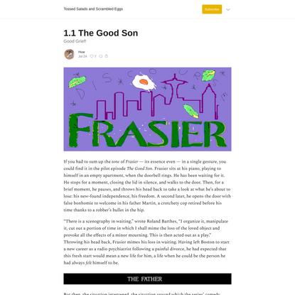 1.1 The Good Son