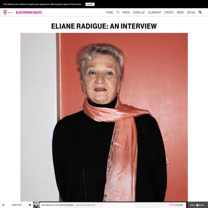 Eliane Radigue: An interview - Electronic Beats