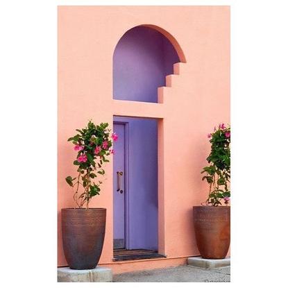 "Camille Walala🔹🔺▪️⭕️ on Instagram: ""Door envy 💜"""