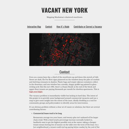 VACANT NEW YORK