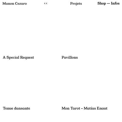Index — manoncezaro