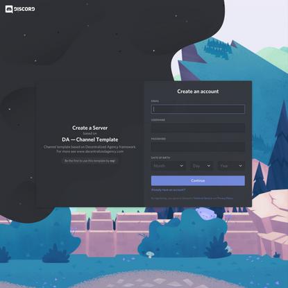 Create a server based on DA Blank