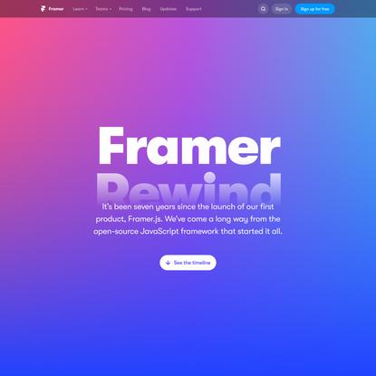 Rewind | Framer