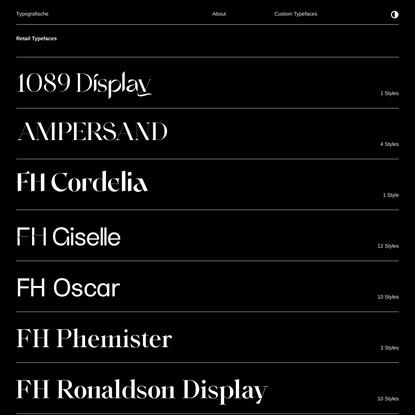 Typografische