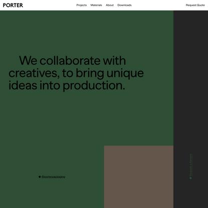 Porter Packaging