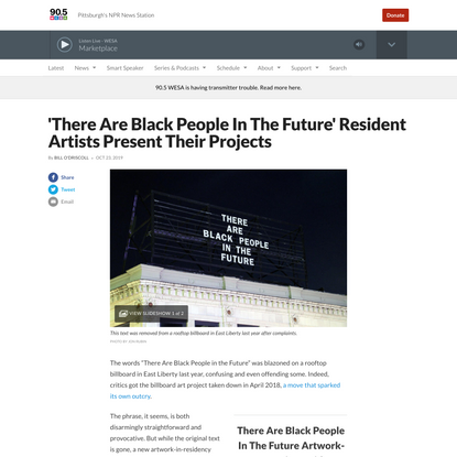 'There Are Black People In The Future' Resident Artists Present Their Projects