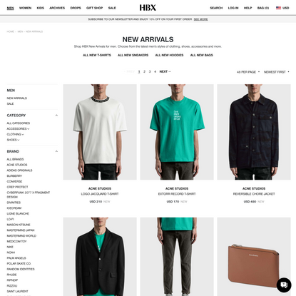 New Arrivals | HBX - Globally Curated Fashion and Lifestyle by Hypebeast