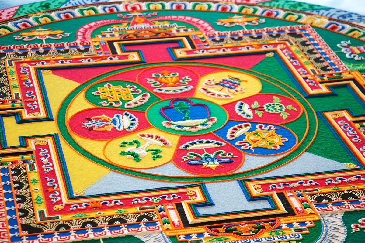 Tibetan Sand Mandalas