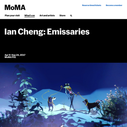 Ian Cheng: Emissaries   MoMA