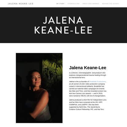 Jalena Keane-Lee