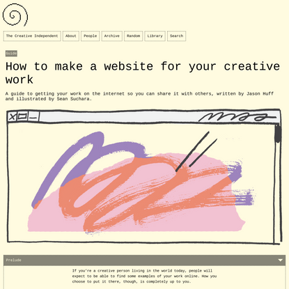 How to make a website for your creative work – The Creative Independent