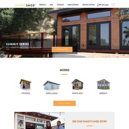 Prefab Modern Sheds and Backyard Studios | Studio Shed