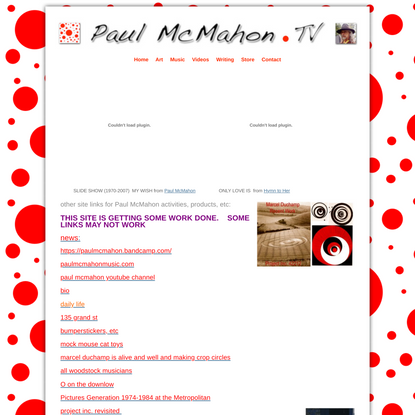Paul McMahon – Singer, Songwriter and Artist