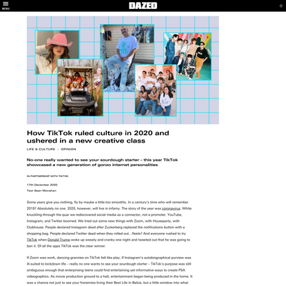 How TikTok ruled culture in 2020 and ushered in a new creative class