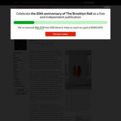 CAMERON ROWLAND 91020000 – The Brooklyn Rail