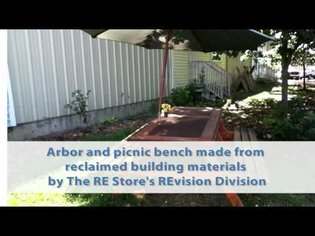 The RE Patch - food and reuse in a community garden
