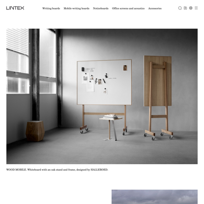 Lintex | Contemporary writing boards for the office | Lintex