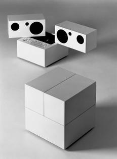 "Mario Bellini ""Totem"" RR130 Hi-Fi system for Brionvega, 1970"