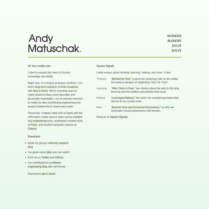 Andy Matuschak