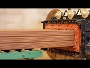 Incredible Modern Automatic Brick Production Line Machines - Latest Construction Equipment Factory