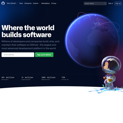 GitHub: Where the world builds software