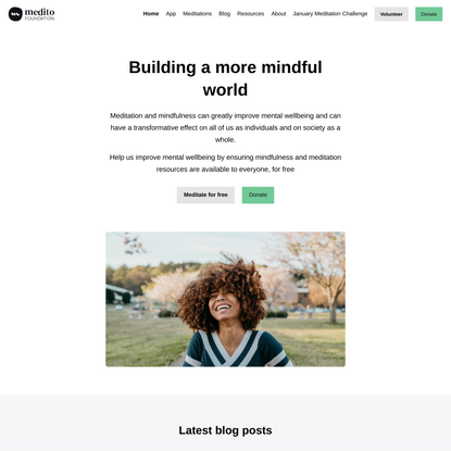 Medito Foundation - Building a more mindful world