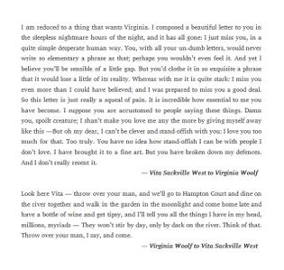 virginia woolf to vita sackville west