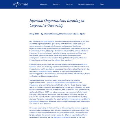 Informal Systems, Inc.