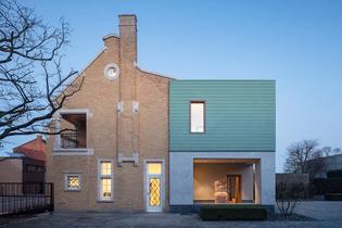 House transformed into office in Ingelmunster (designed by Declerck-Daels Architecten)